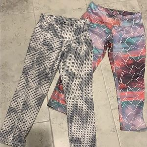 Target and old navy yoga capris size XS